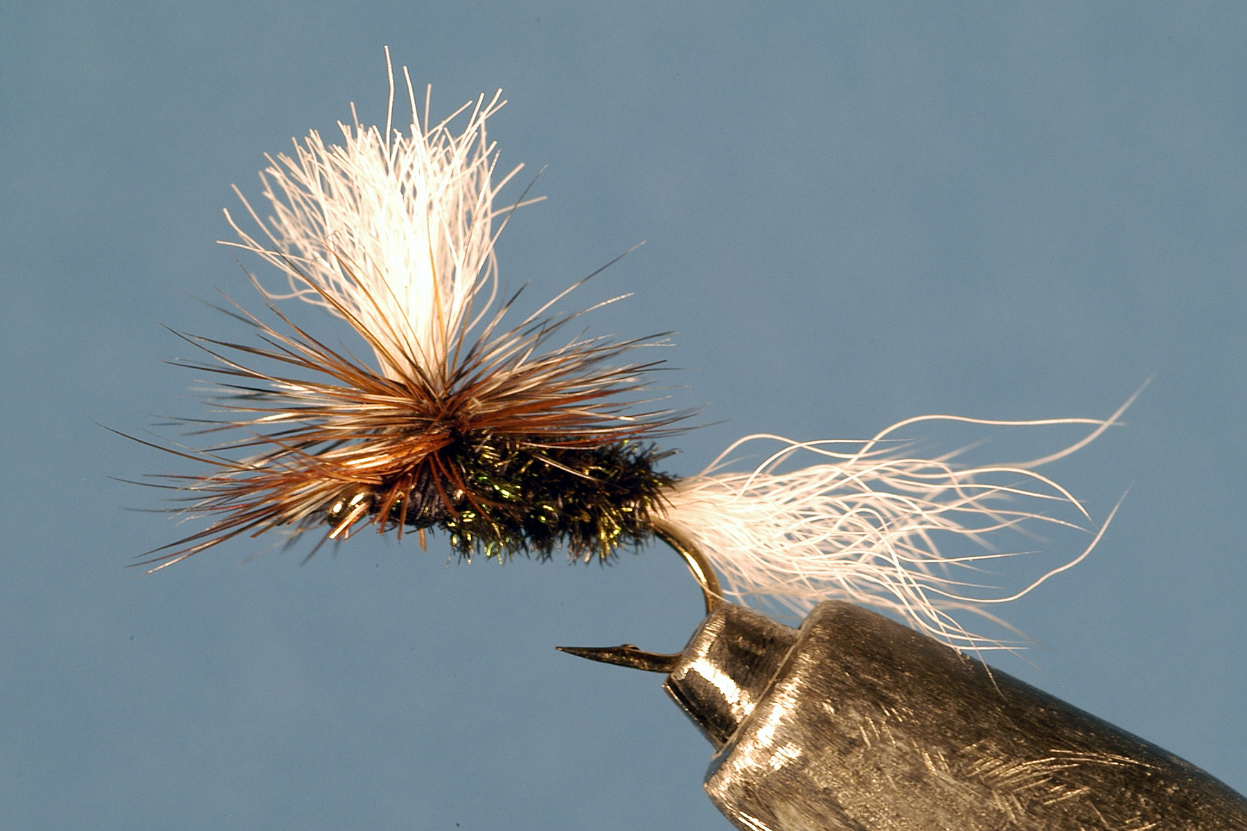 Multicolored Parachute Dry Fly Fishing Trout