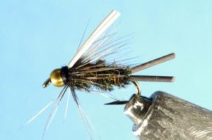 Bead Head Prince Nymph Rubber Legs Fly Fishing Trout
