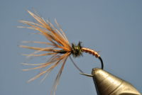 Copper Kebari Tenkara Fly Fishing Trout